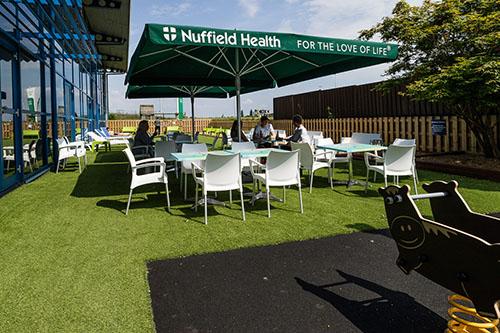 Newbury Nuffield Health Outdoor Area