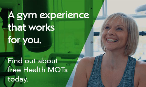 A gym experience that works for you. Find out about our Health MOTs