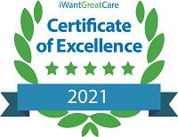 I want great care award 2021