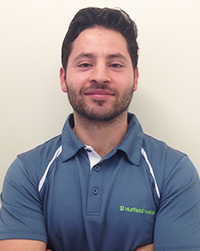 David Arboleda - Senior physiotherapist in Ilford