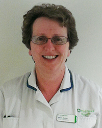 Eileen Kneller, Physio at Tunbridge Wells Hospital