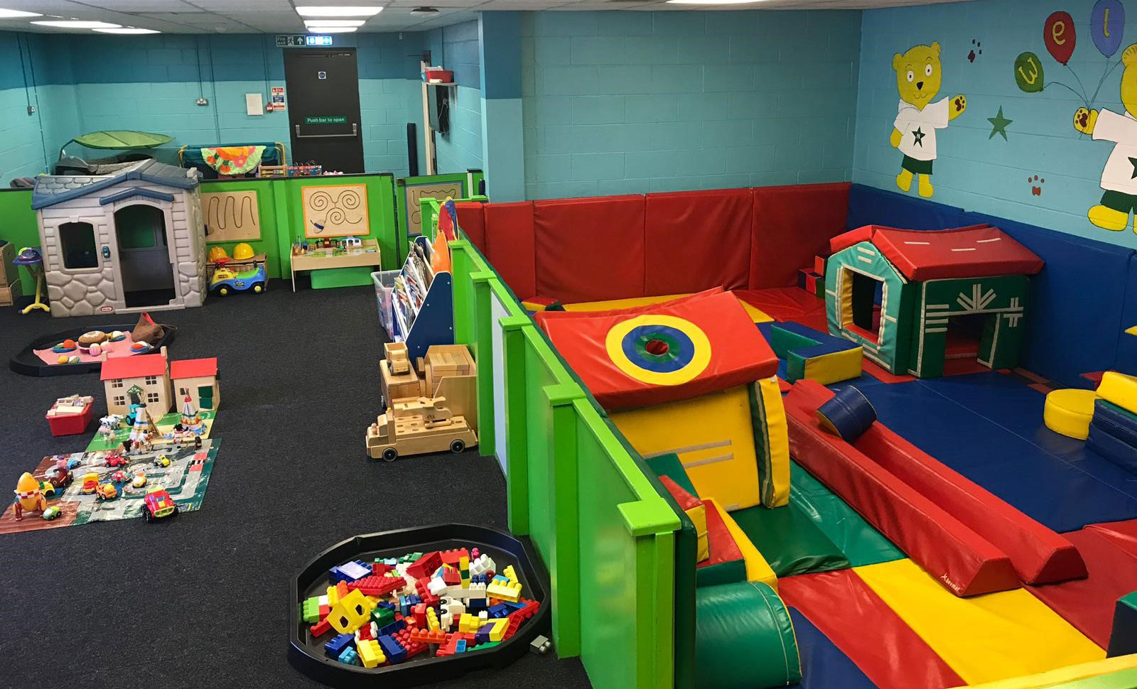 Rugby Fitness and Wellbeing Gym creche