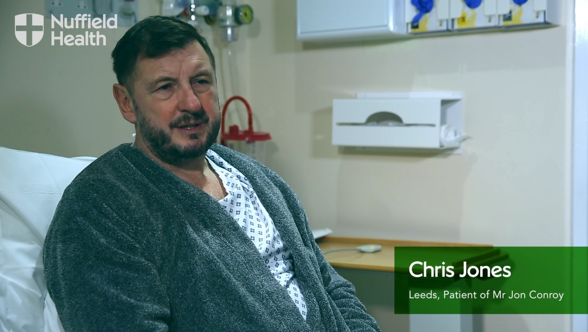 Chris's story - a video