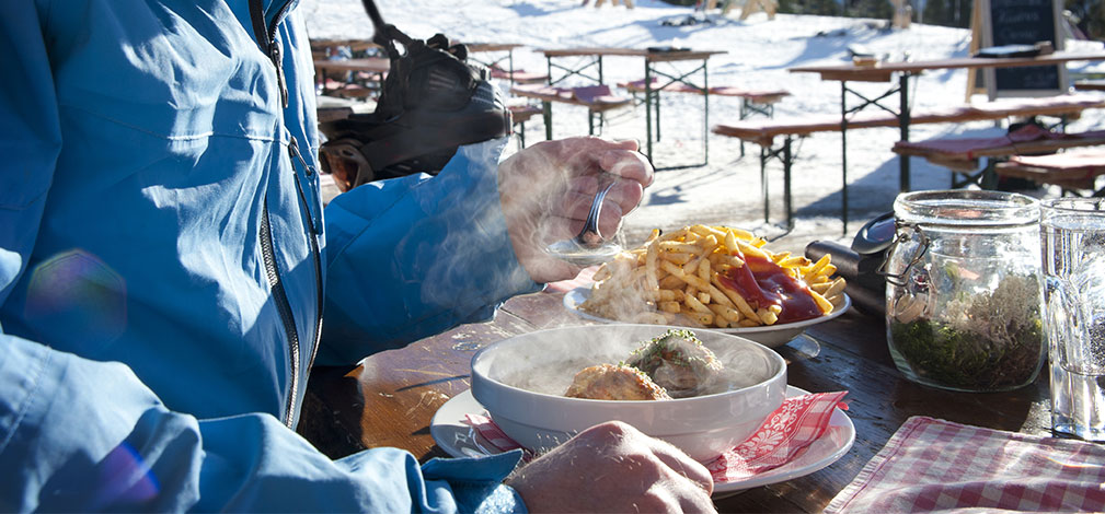 Eating well on the slopes