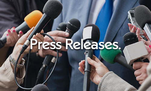 Click here for press releases.