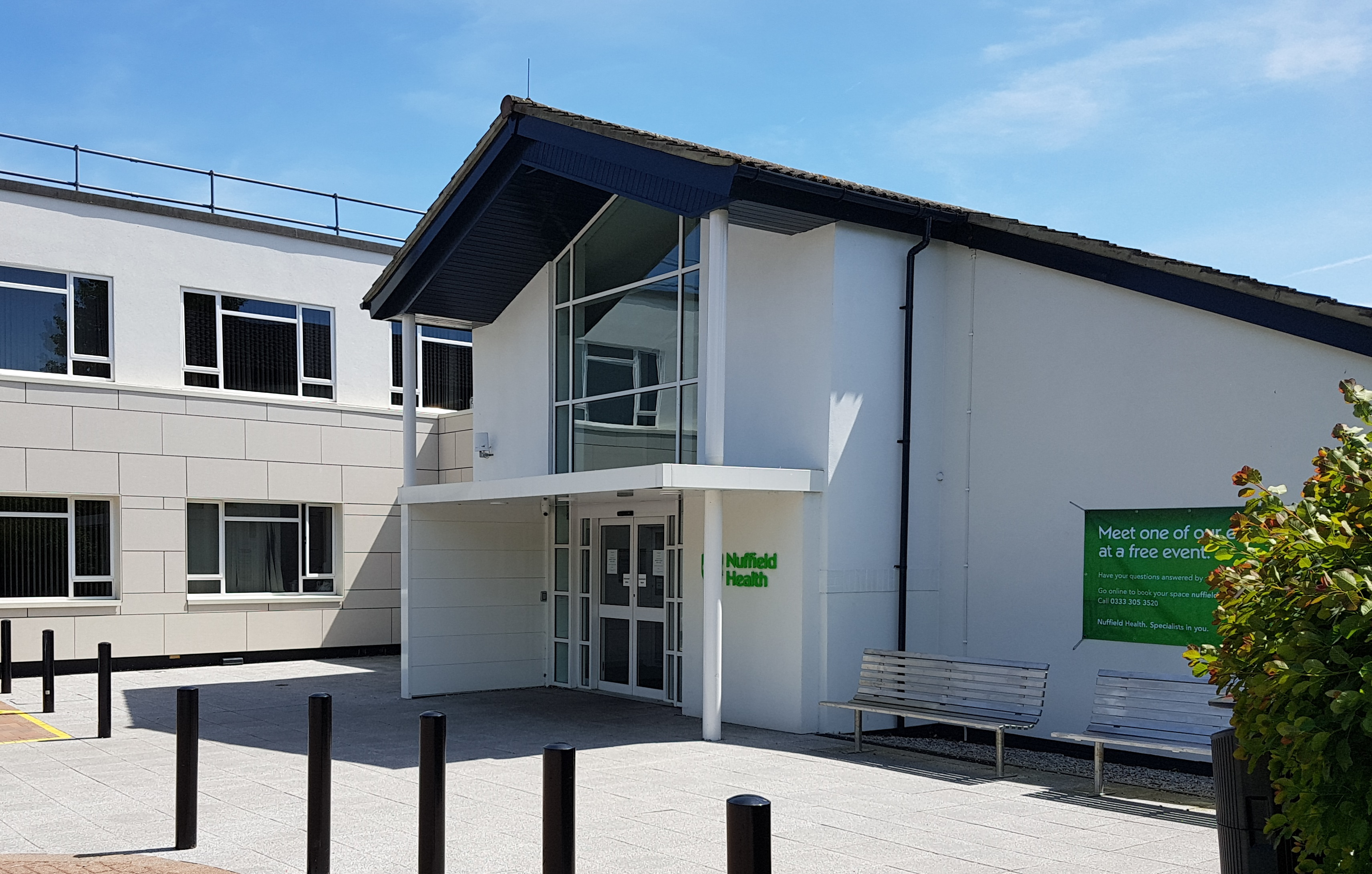 Nuffield Health Brentwood Hospital in Essex