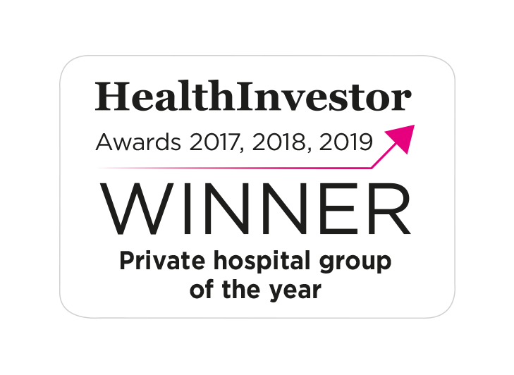 Private Hosptial Group Award