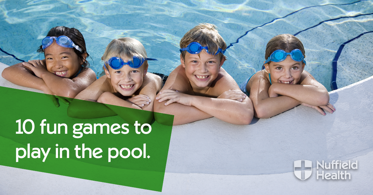 10 Fun Games To Play In The Swimming Pool Nuffield Health