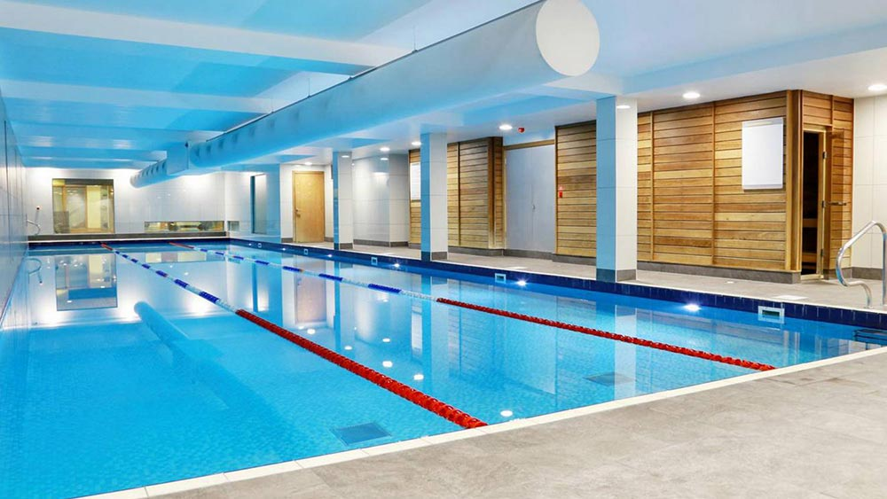 Indoor swimming pool in shoreditch nuffield health for Garden pool hire london