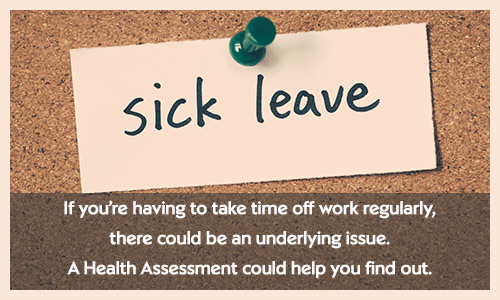 Find out more about Health Assessments