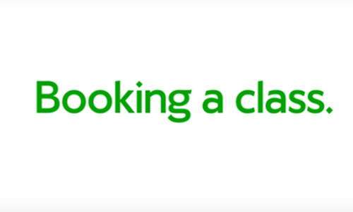 Class booking