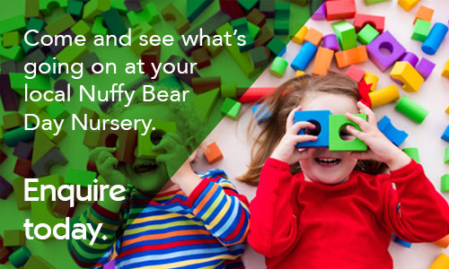 Come and see what's going on at your local Nuffy Bear Day Nursery