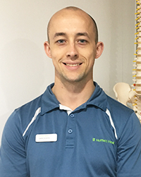 Charlie Goodyear, physiotherapist at Club Baltimore