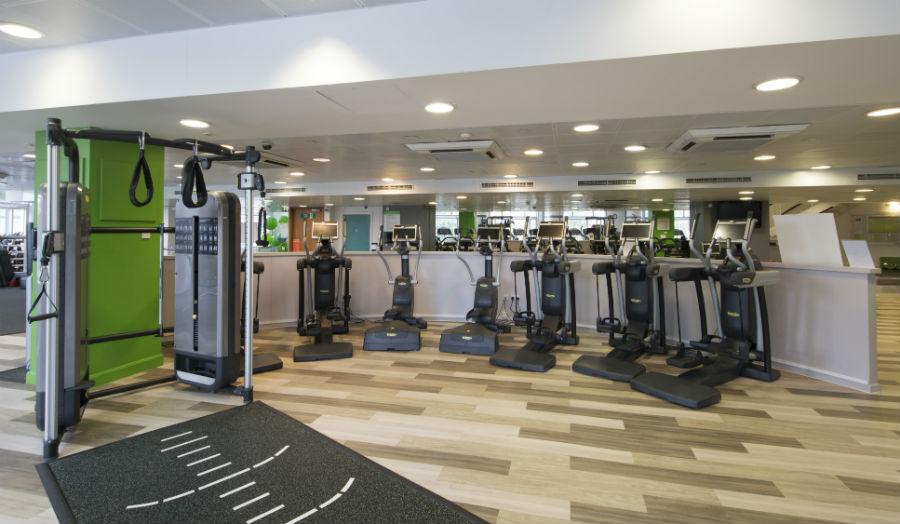Gym Floor Cardio Machines at Canary Wharf Health Club