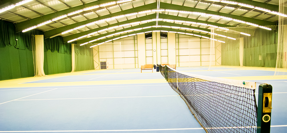 Oxfordshire tennis court