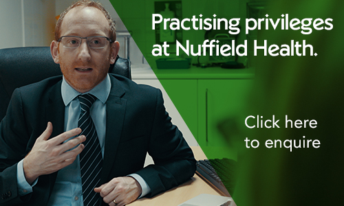 Practising privileges at Nuffield Health