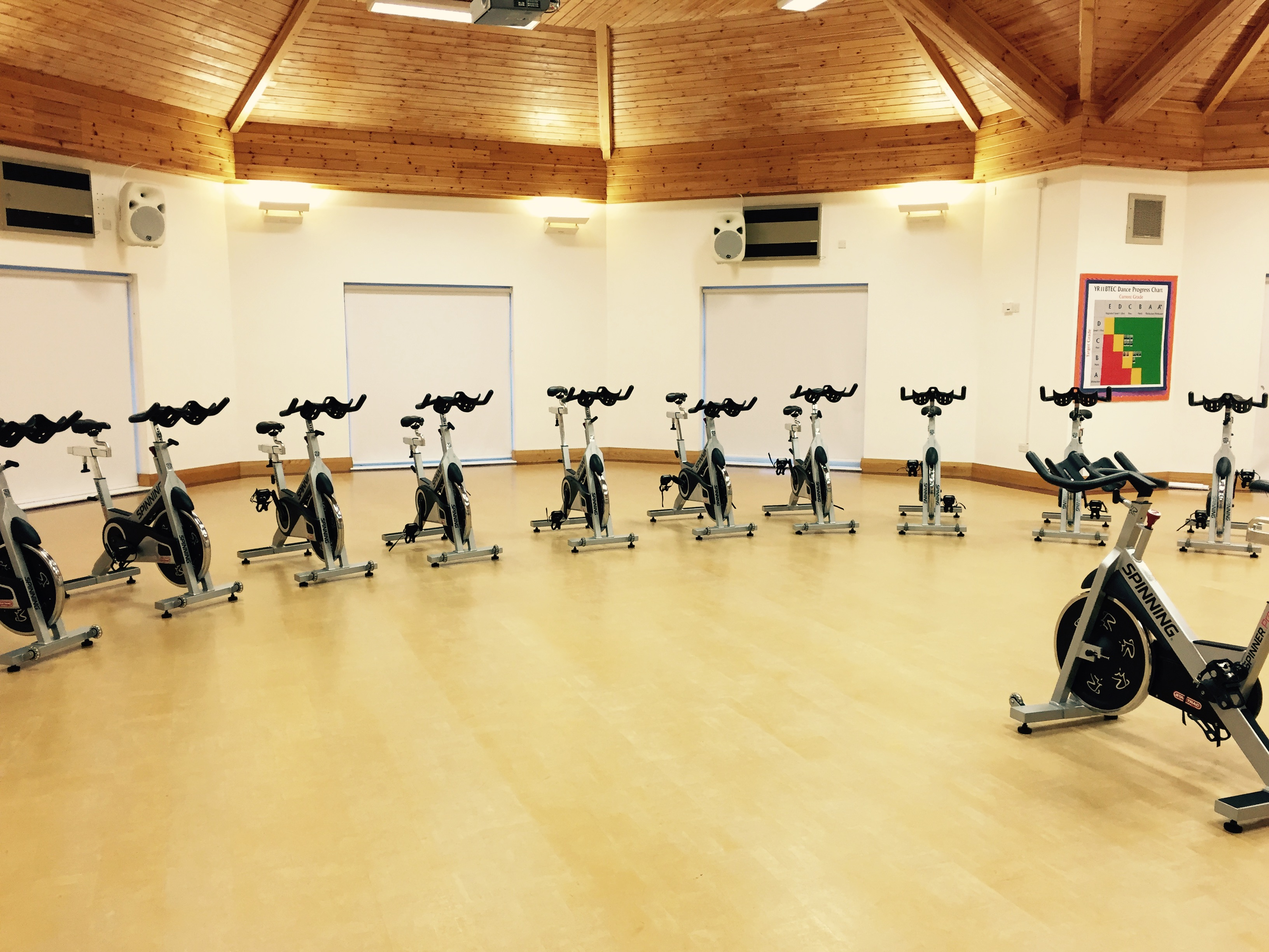 Spinning Studio East Point Gym