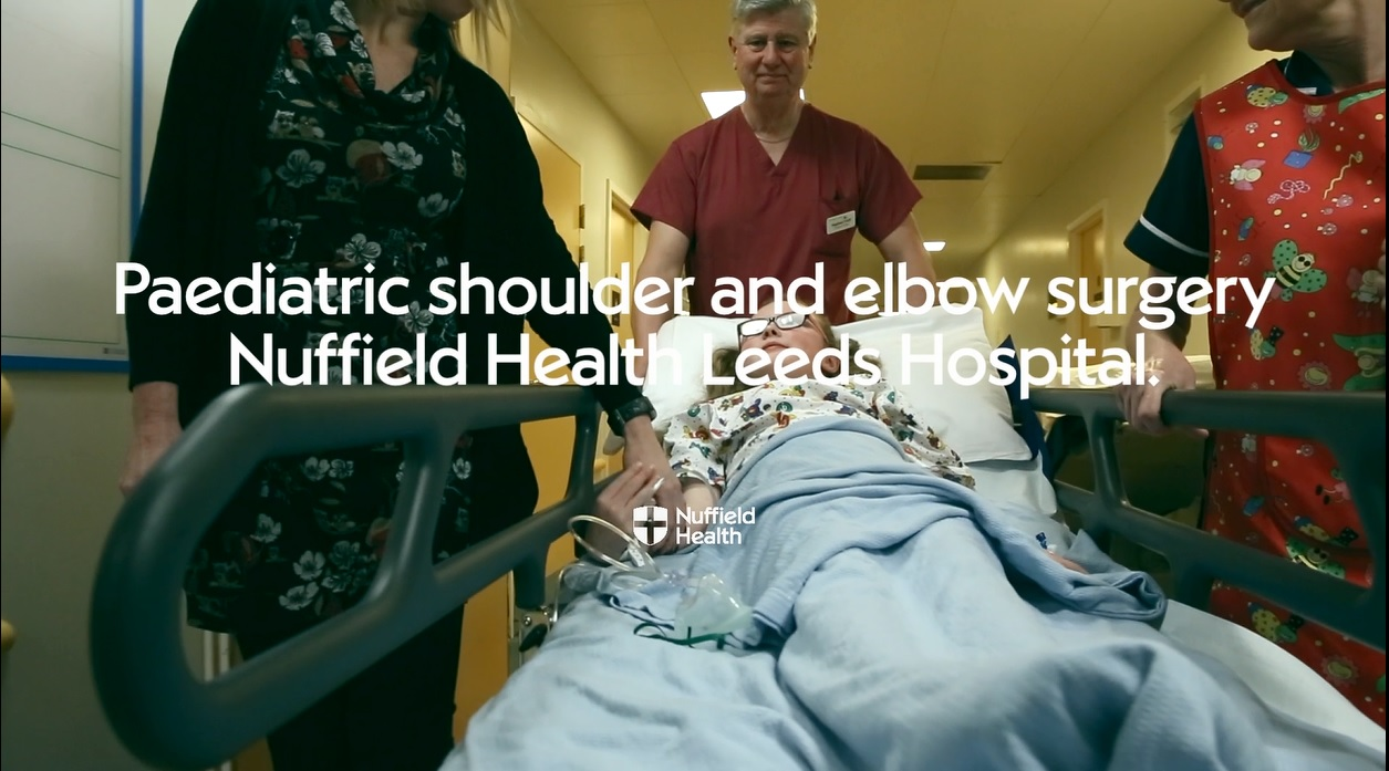 Paediatric elbow and shoulder surgery