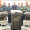 Housekeeping team at Nuffield Health Leeds Hospital