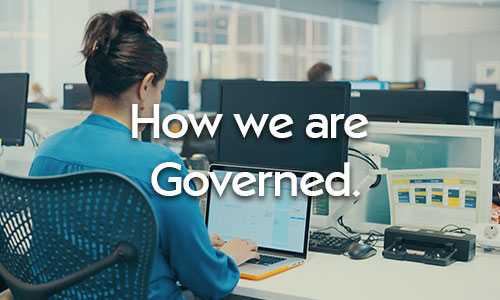 Click here for How we are Governed.