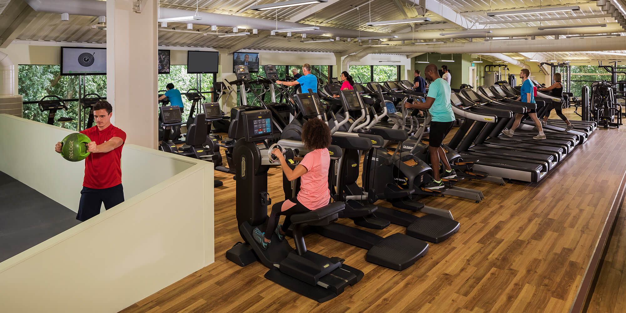 Nuffield fitness wellbeing centre