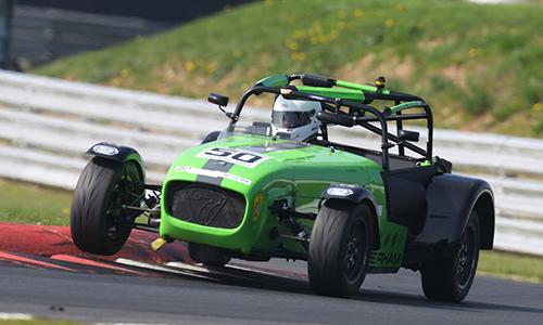 Greg Hyatt on the race track