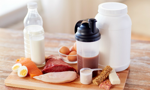 Protein foods and powders