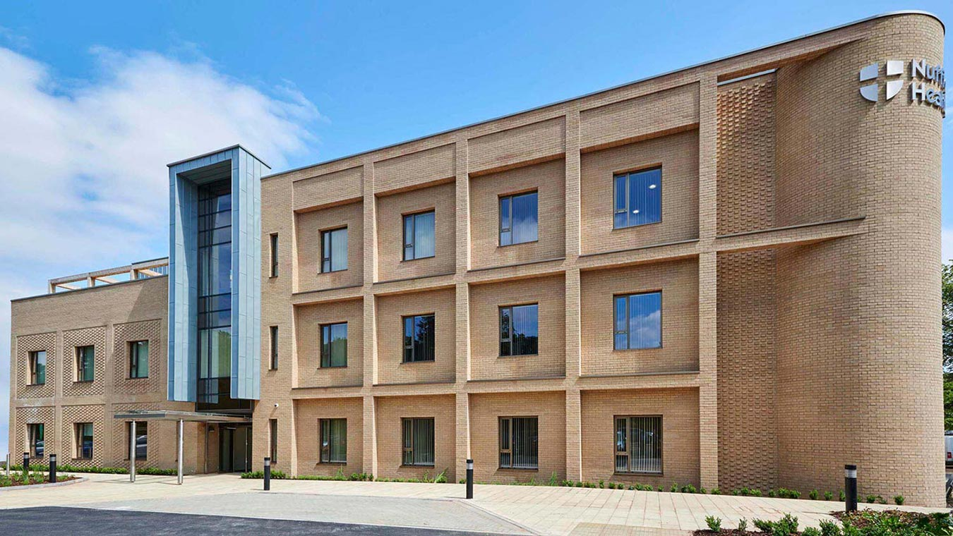 Nuffield Health Cambridge Hospital - New exterior