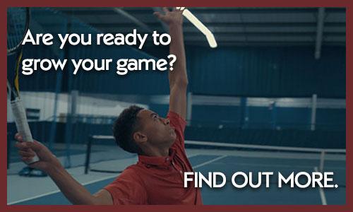 Tennis academy CTA