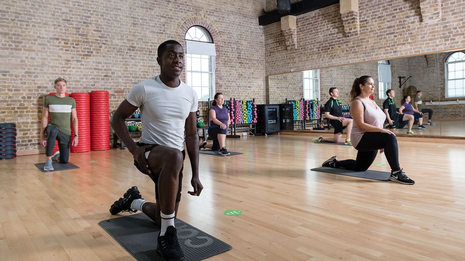 Fewer people allowed in gyms classes