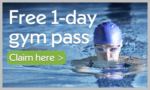 Claim your free 1-day gym pass