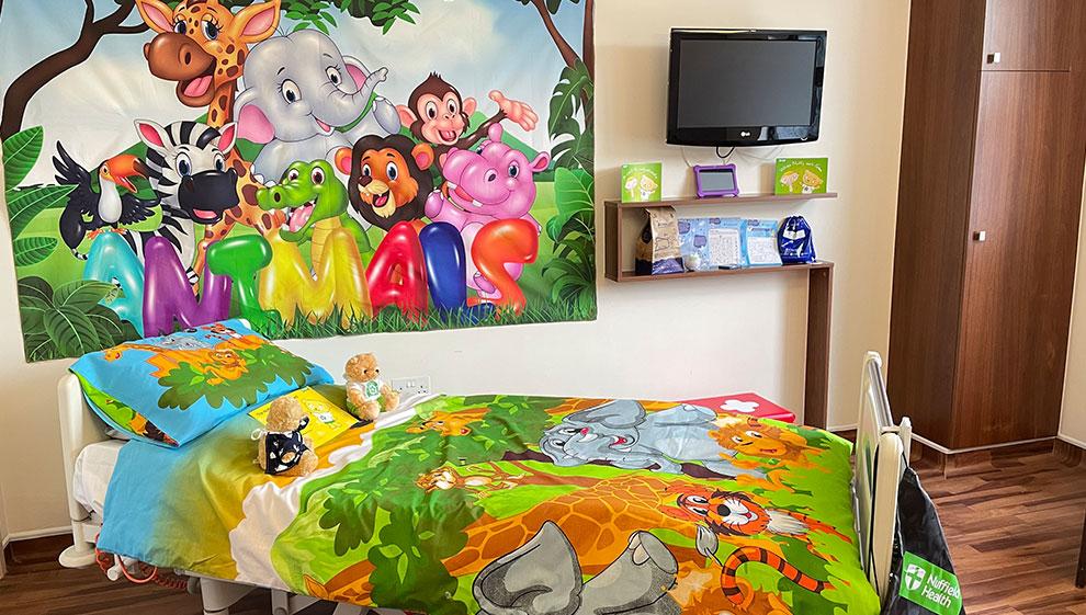 Bournemouth Hospital children's room