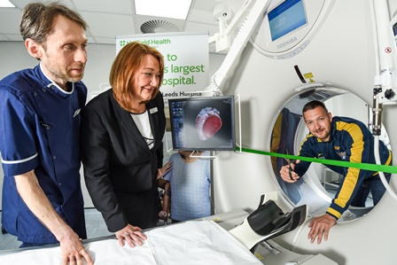 Nuffield Health Leeds Hospital state of the art scanner