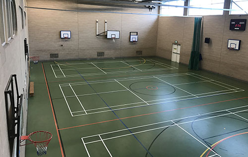 Sports Hall Nuffield Health Newbury