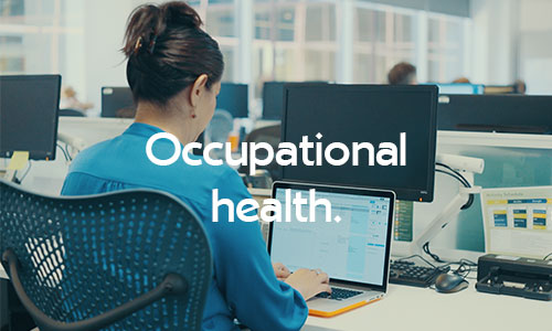 Physiotherapy treatments for occupational health
