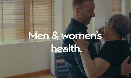 Physiotherapy treatments for men and women's health