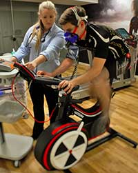 Vo2 and Lactate Watt Bike