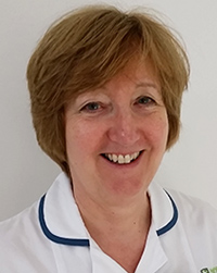 Linda Roberts, Physiotherapy lead in Cheltenham