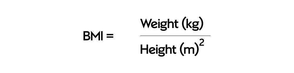 BMI equation