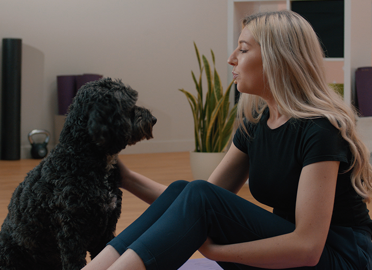 Pet mindfulness class with Sophie
