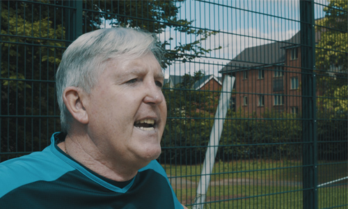 Tony Larkin, former UK Blind football coach small promo image