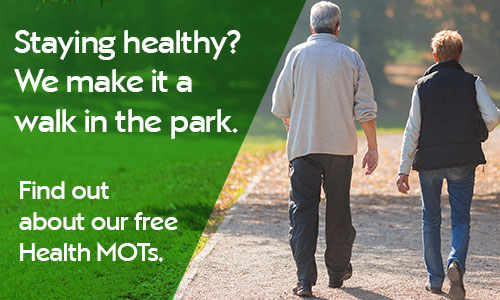 Staying health? We make it a walk in the park. Find out about our free Health MOTs