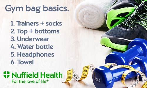 Gym Bag Basics