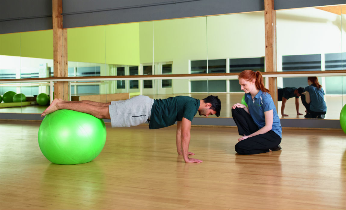 Corporate physiotherapy services from Nuffield Health