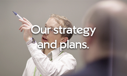 Click here for our strategy and plans