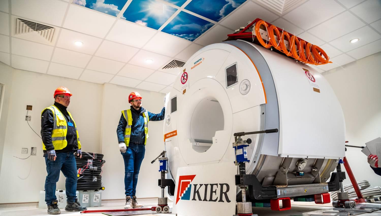 The MAGNETOM Sola MRI scanner from Siemens Healthineers