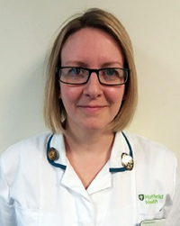 Alison Crocker, physiotherapist in Exeter