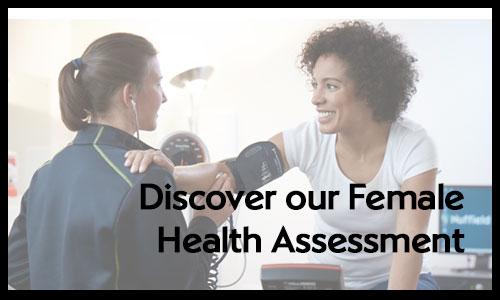 Female Health Assessment Button