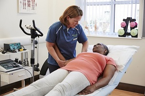 Physiotherapist appointment