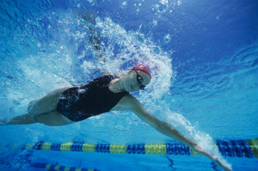 Adult swimming lessons in Shipley